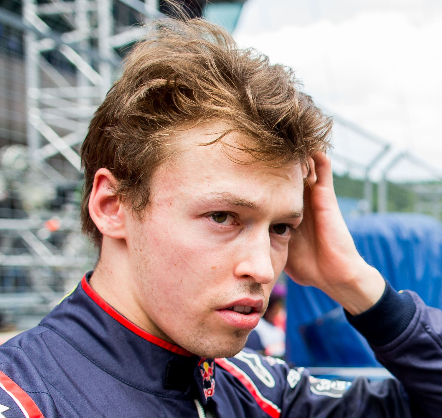 Daniil Kvyat penalized