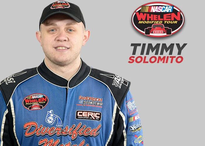 NASCAR Modified Ace Solomito Challenging Indoor Racers at Atlantic City