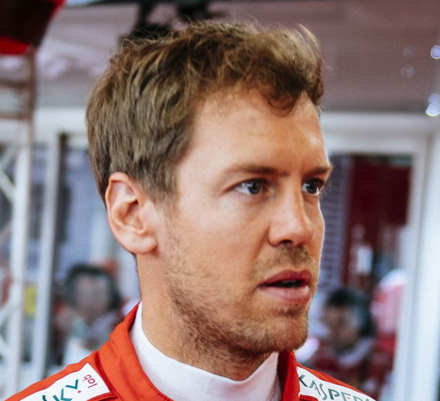 Vettel coming the realization, like many others before him, that you cannot beat an Aldo Costa designed car