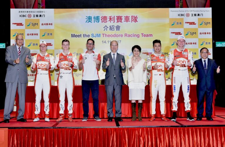 SJM Theodore Racing Four-Car Assault for Ninth Macau GP Title Campaign