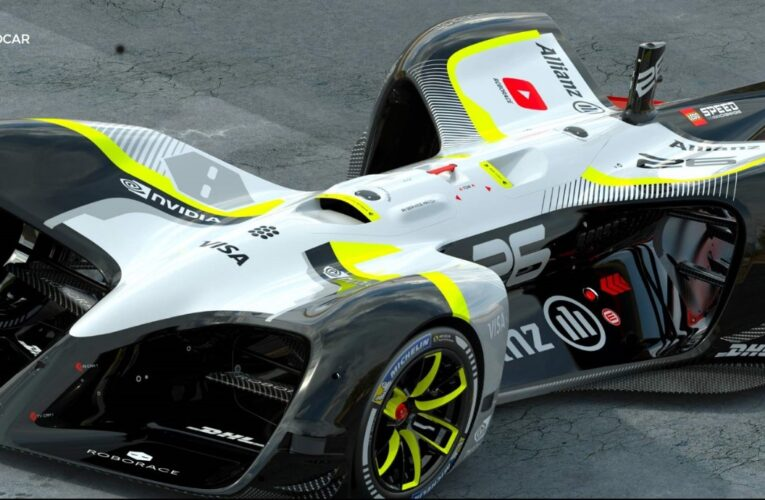 Self-Driving Race Car's Run Ends With Immediate Crash
