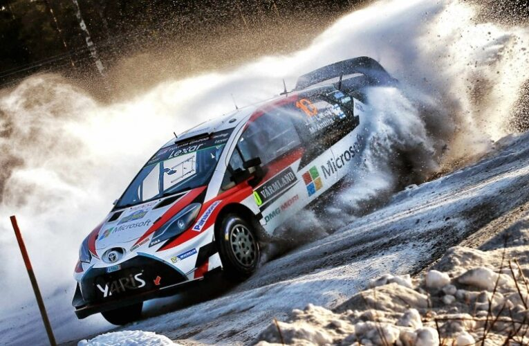 Rally of Sweden Day 2