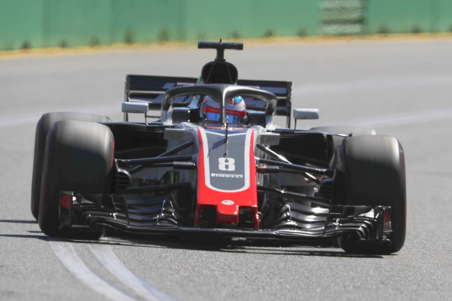 Grosjean 6th quick on Friday