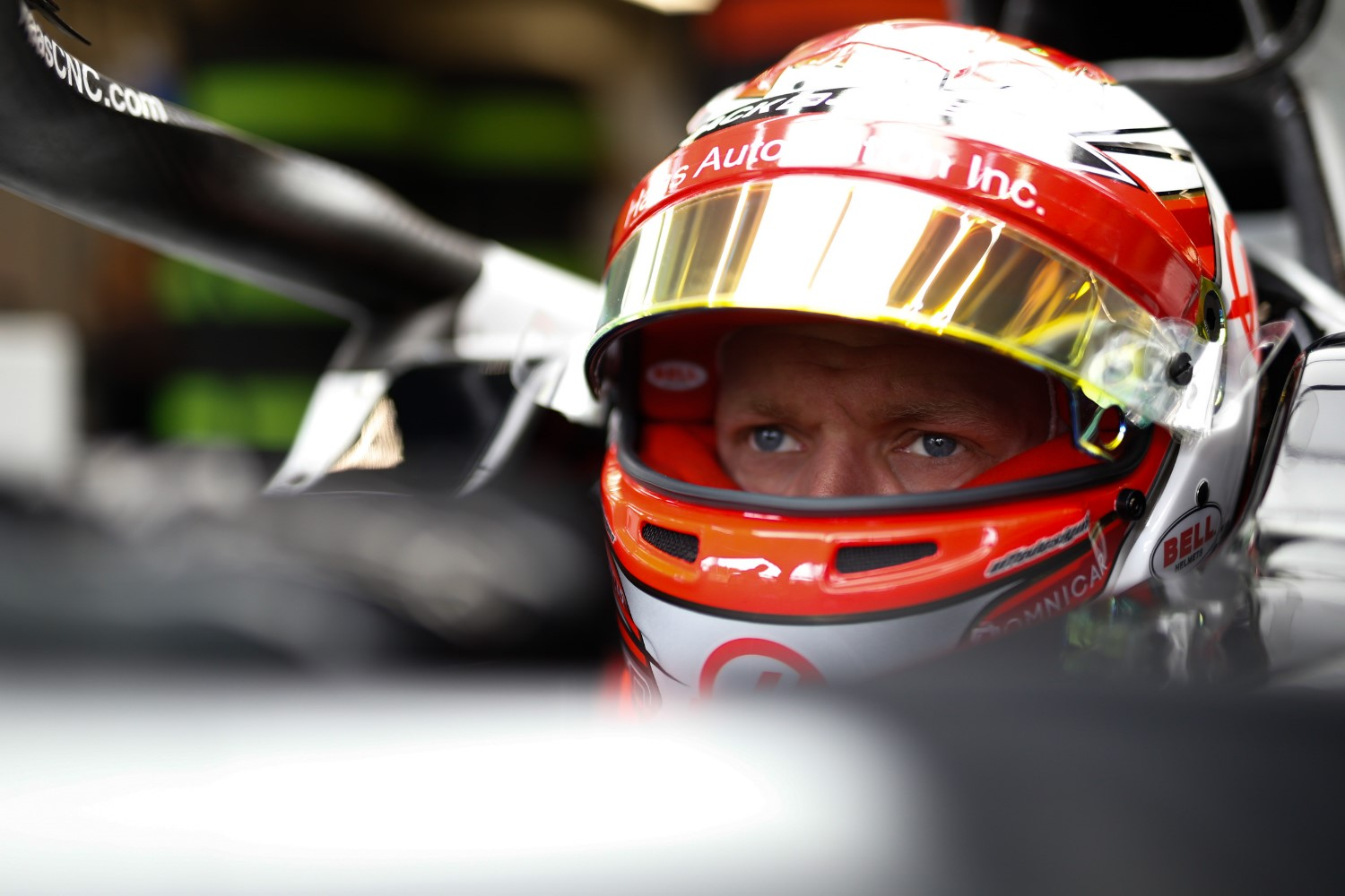 Kevin Magnussen at Spa Friday