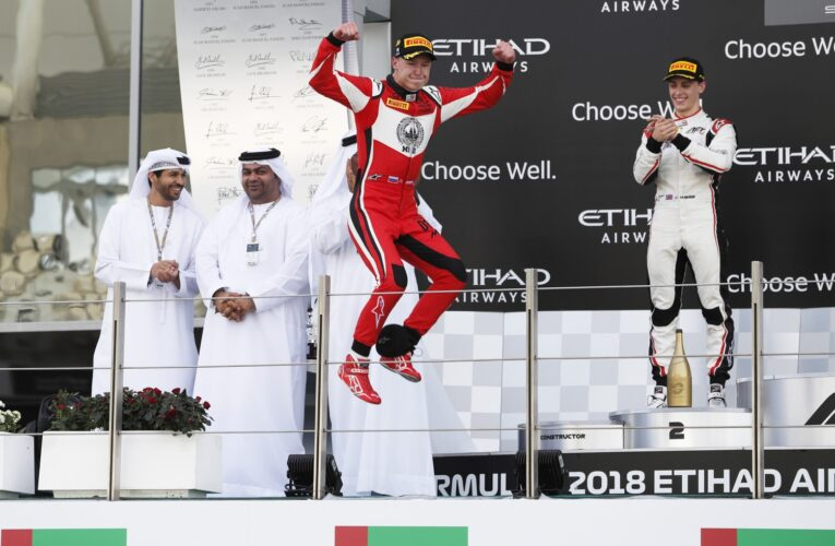 Mazepin flies to final GP3 victory