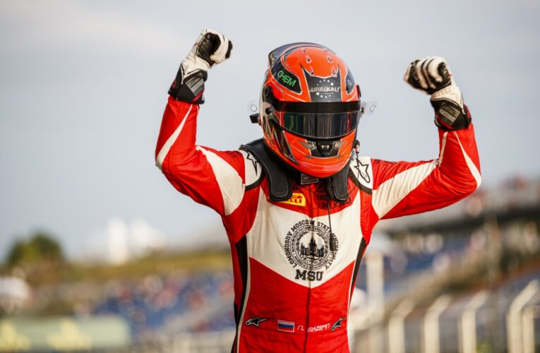 Mazepin dominates in Budapest Race 1
