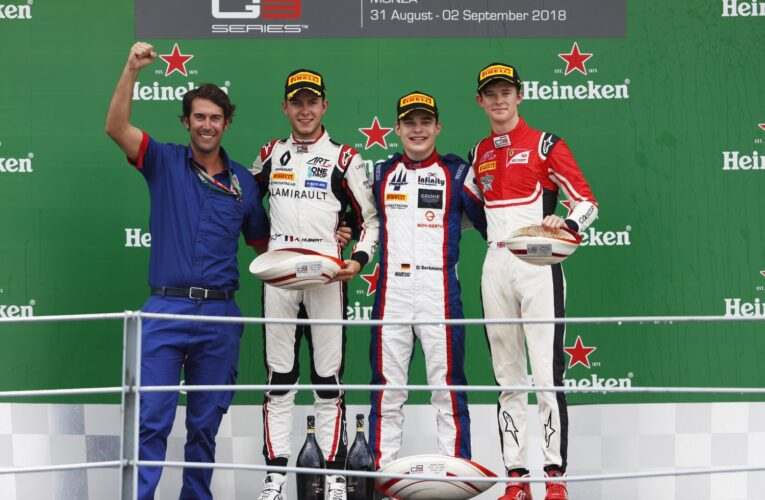 Beckmann cruises to victory in wet Monza Race 1