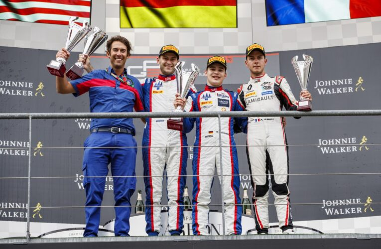 Beckmann rockets to victory in Spa Race 1