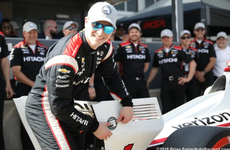 Newgarden nips Power for Indycar GP of Alabama pole