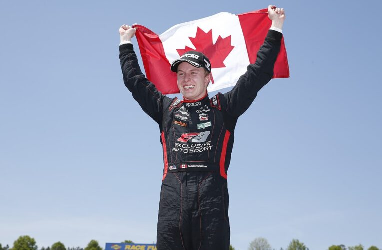 Thompson Dominates in First Pro Mazda Win for Exclusive Autosport