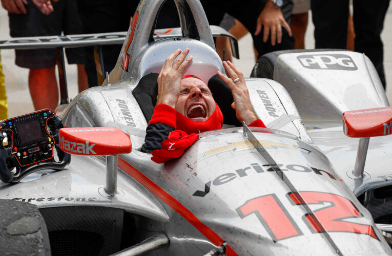 Power wins 17th Indy 500 for Team Penske