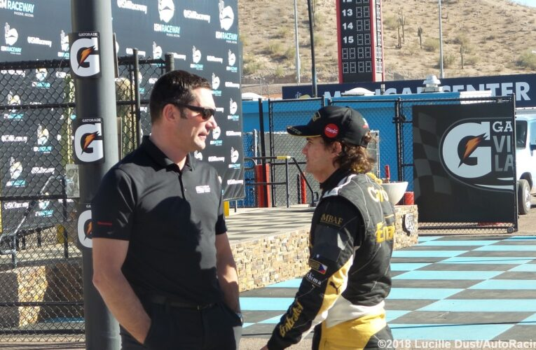 Scenes from Phoenix IndyCar Test