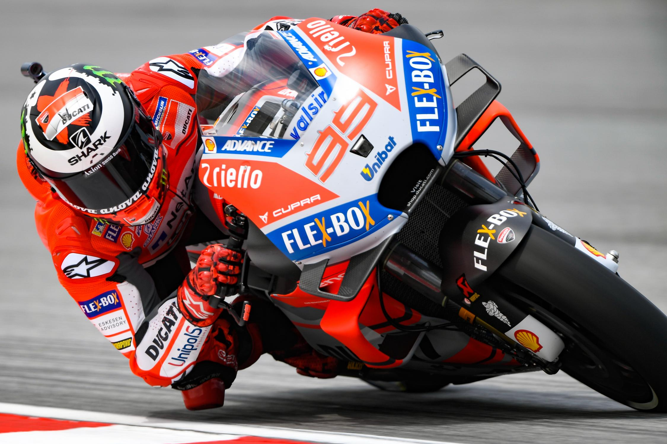 Jorge Lorenzo on Friday