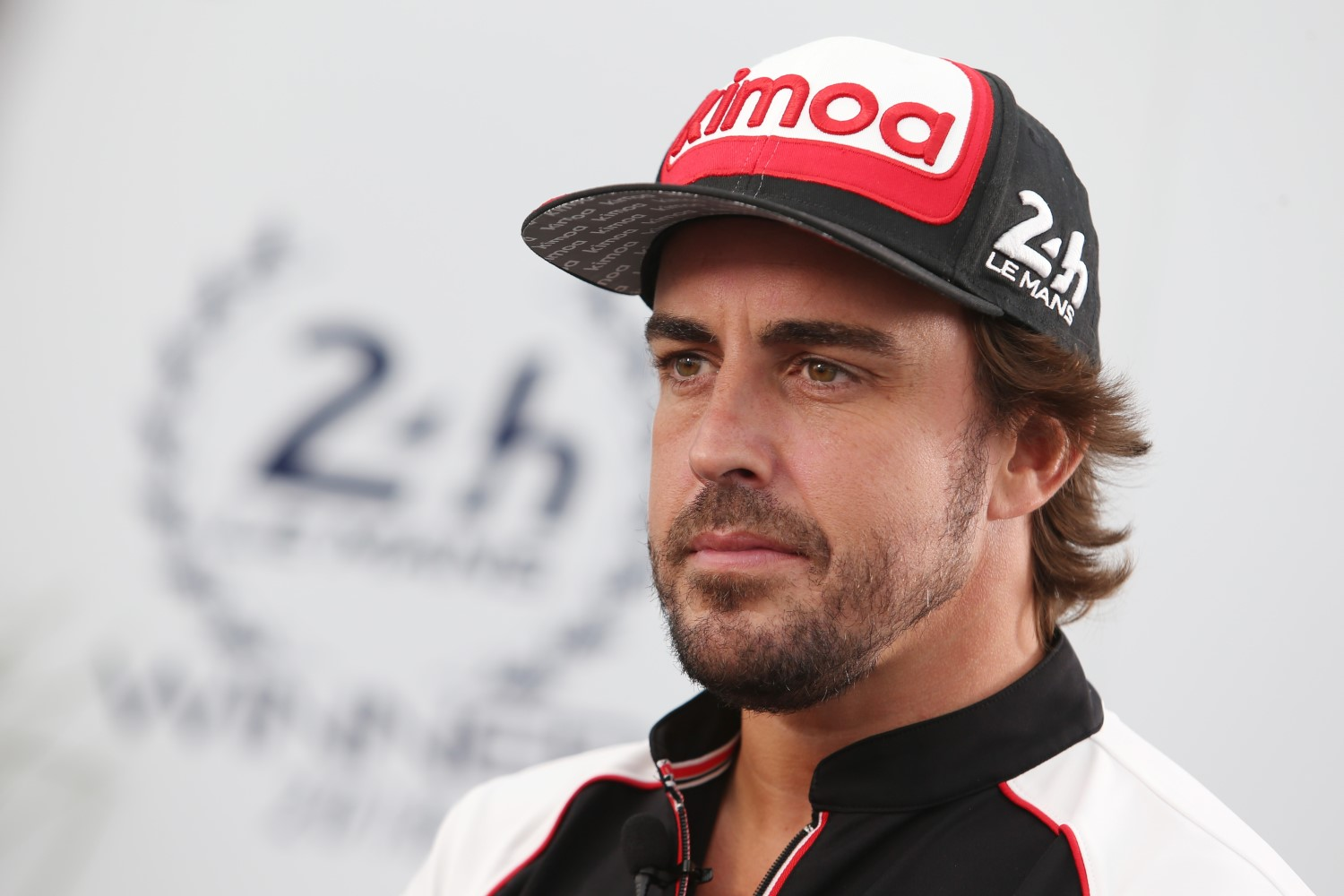 Alonso stares into space trying to figure out his next move
