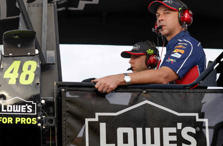 Chad Knaus to take executive role at Hendrick