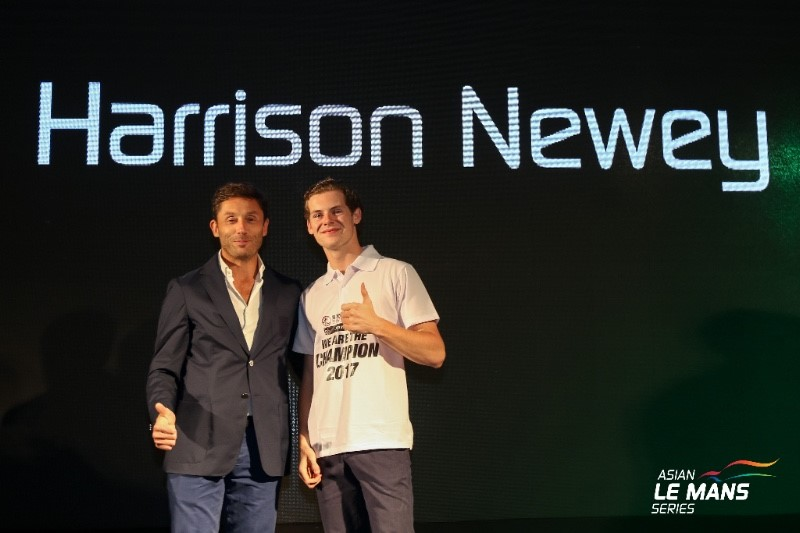 Adrian Newey's son Harrison won Rookie of the Year