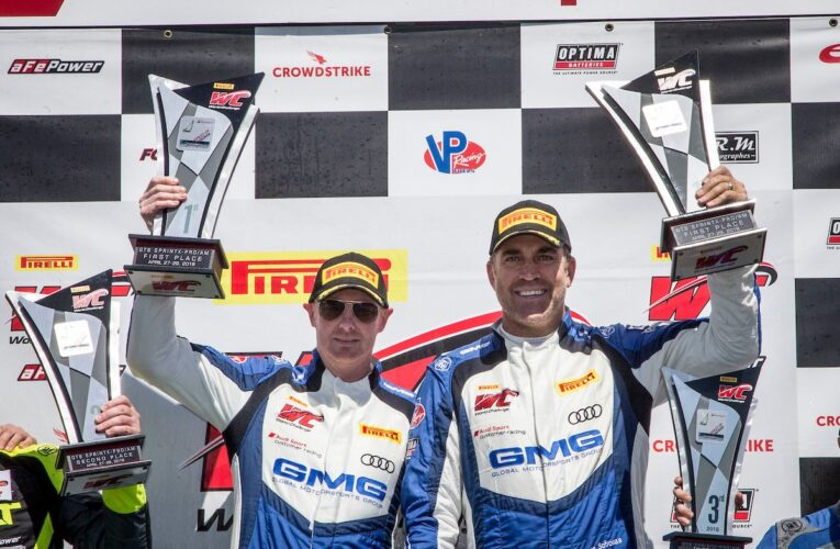 Sofronas/Welch Pro-Am Duo Give Audi Another GTS SprintX Victory