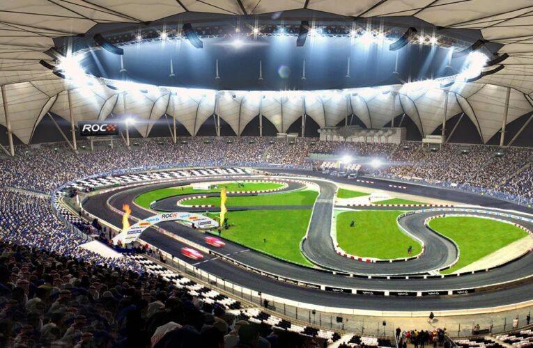 Stunning ROC Riyadh track features return of famous Race Of Champions crossover bridge