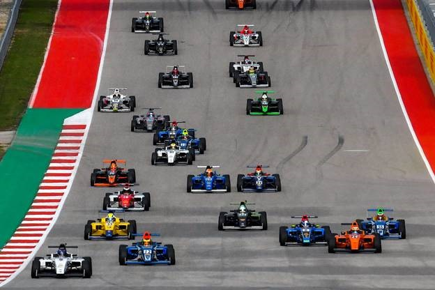 F4 U.S. Championship exceeds World FIA F4 entry record for USGP finale