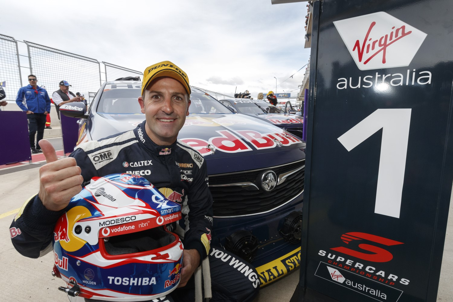 Race winner Whincup