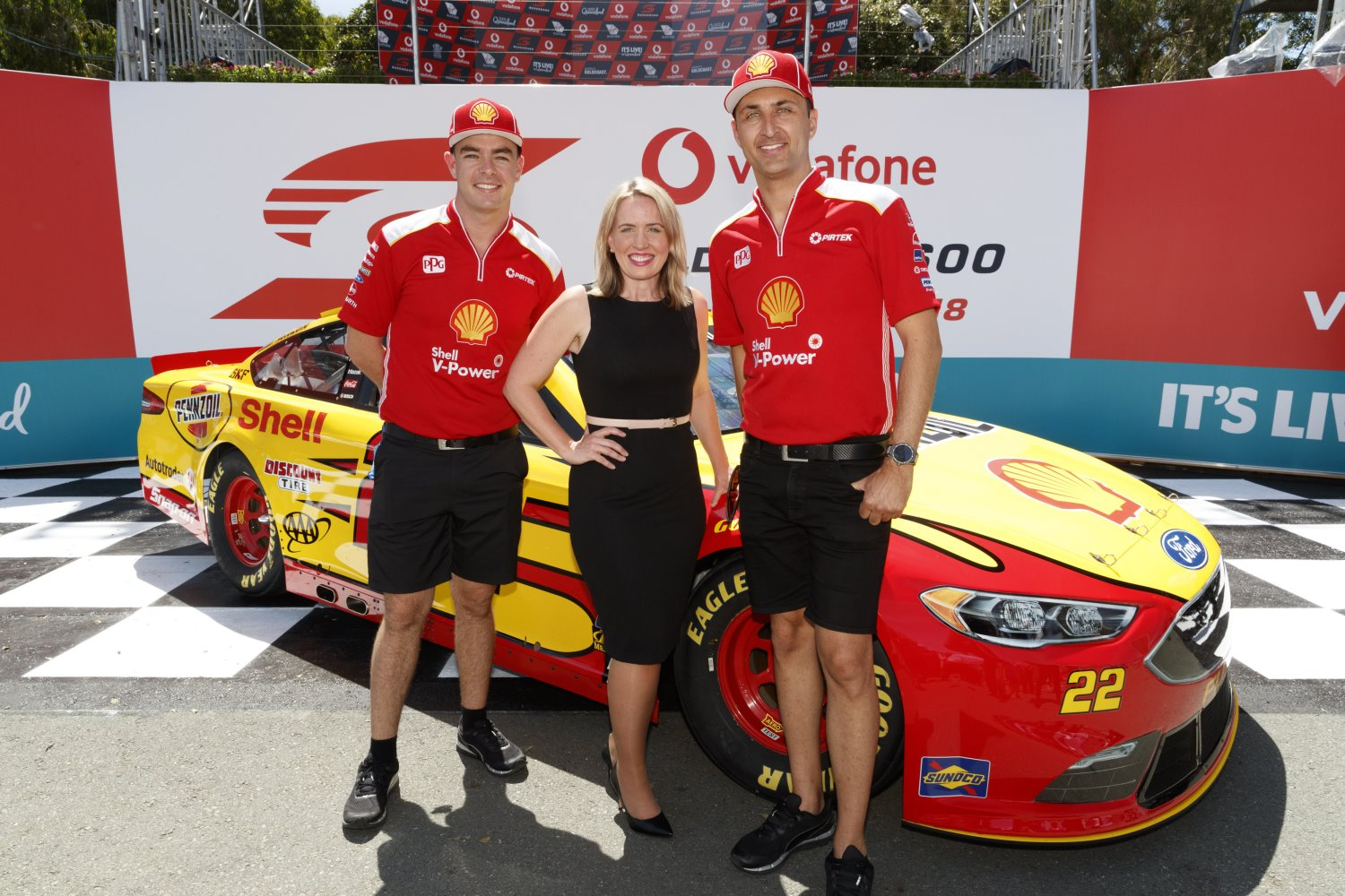 Roger Penske brought his Cup car to Surfers Paradise to promote NASCAR there. Note he did not bring his IndyCar.