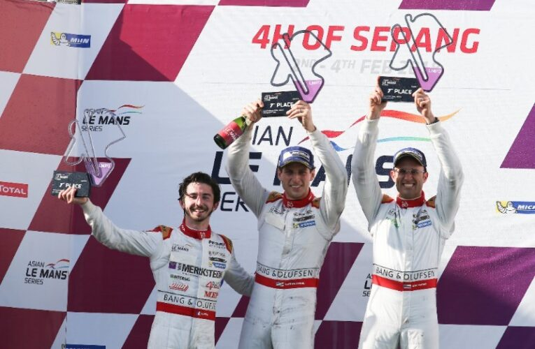 Cosmo and Byrne Crowned Asian Le Mans Series Champions at Sepang