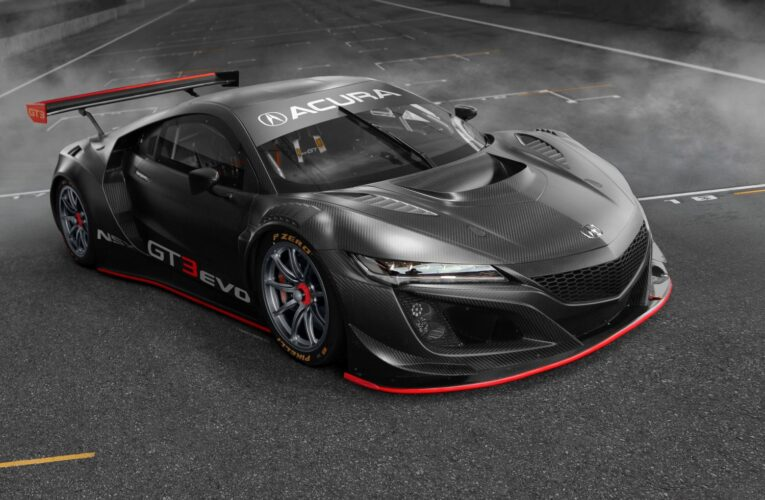 NSX GT3 Evo To Compete Globally in 2019 (Update)