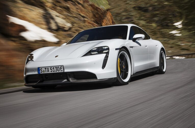 Taycan becomes Porsche's best selling car