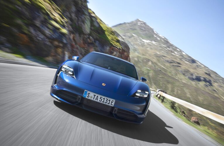 Video: Chris Harris drives The Porsche Taycan Turbo S