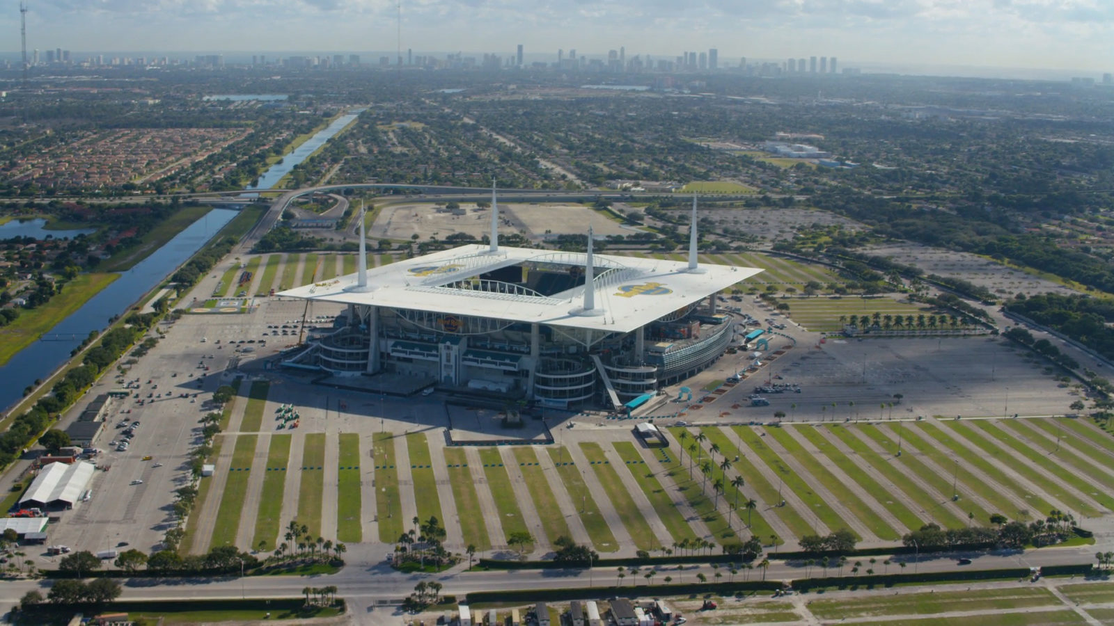 Miami Dolphins' Hard Rock Stadium has emerged as a location for a Miami Grand Prix