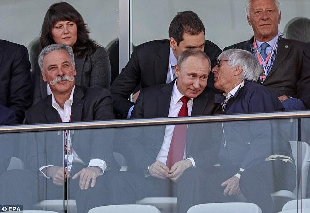 Putin, Ecclestone not attending Russian GP