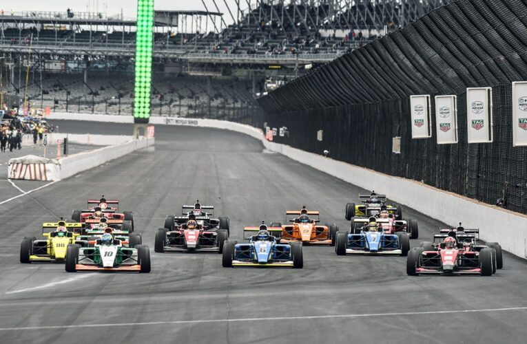 Sweden's Lindh Grabs Long Overdue First Road to Indy Win