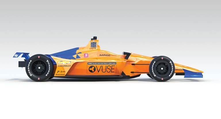 British American Tobacco's R.J. Reynolds subsidiary is promoting its Vuse vape brand on McLaren Racing's Indianapolis 500 entry