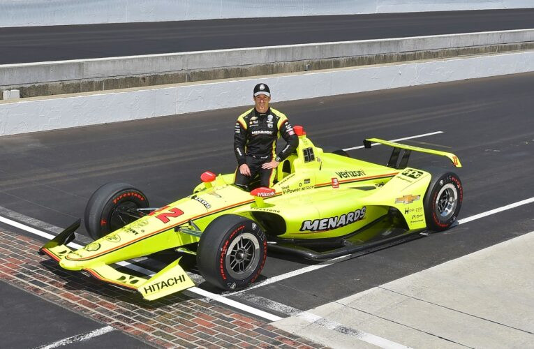 Simon Pagenaud wins pole for 103rd Indy 500