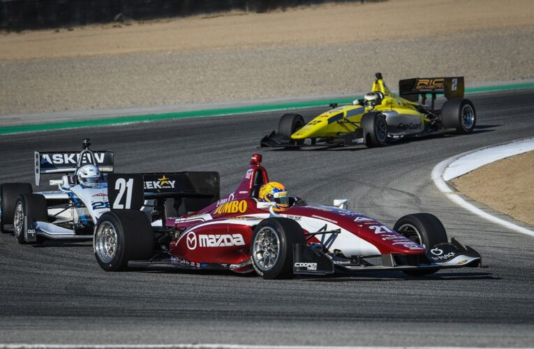 VeeKay Underlines his Class with Dominant Indy Lights Victory