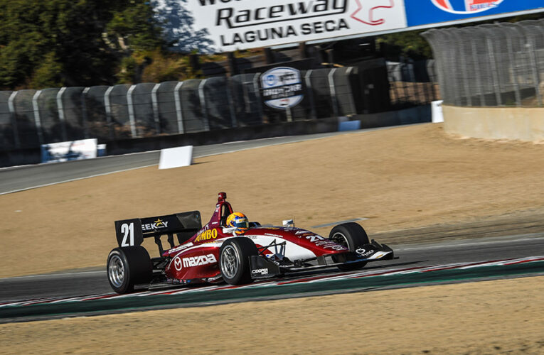 Veekay storms to Indy Lights pole