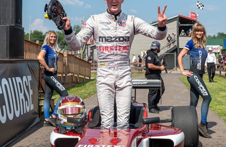 Another Indy Pro 2000 Sweep for Kirkwood Tightens Title-Chase