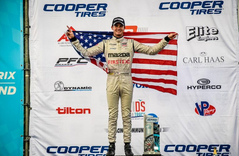 Kirkwood Grasps Indy Pro 2000 Points Lead with Portland Win