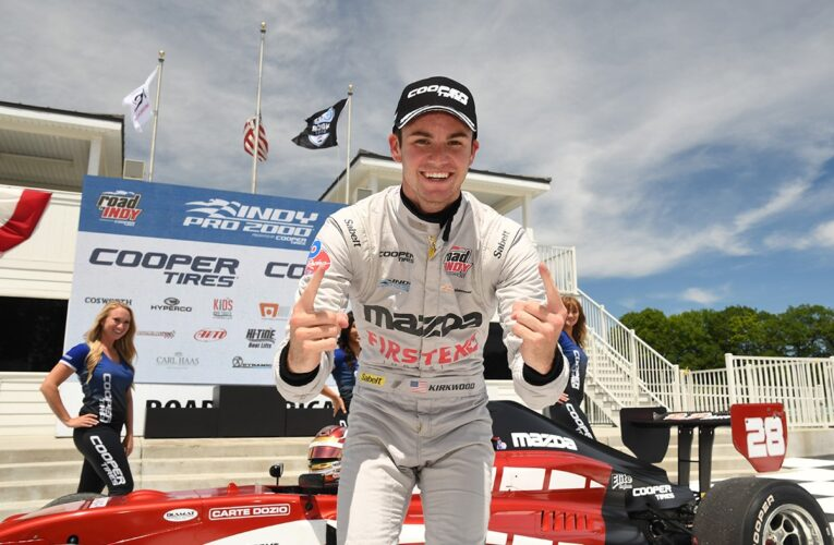 Kirkwood Remains Perfect at Road America With Indy Pro 2000 Win