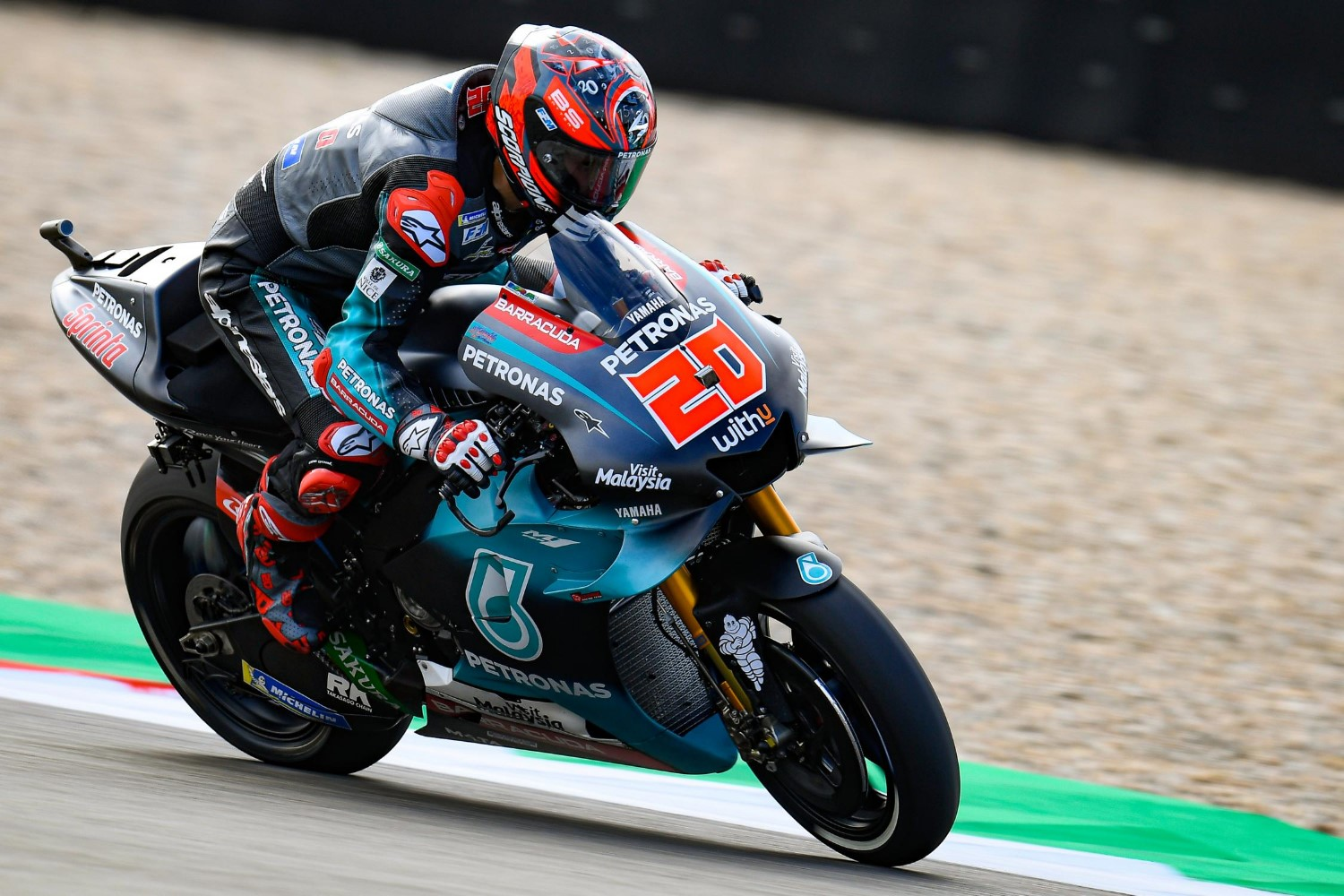Fabio Quartararo on pole again!