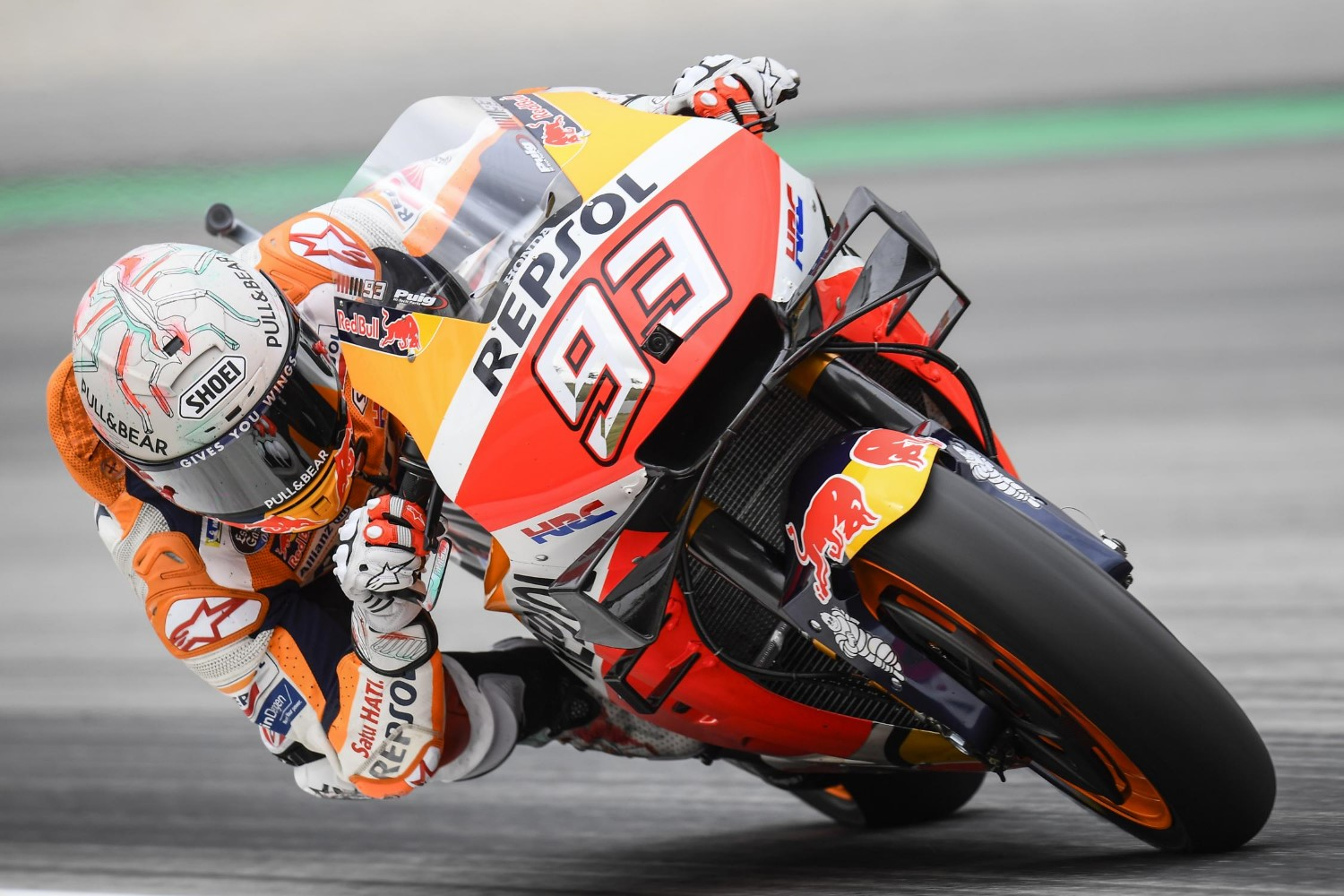 Marquez tested 2 different bikes