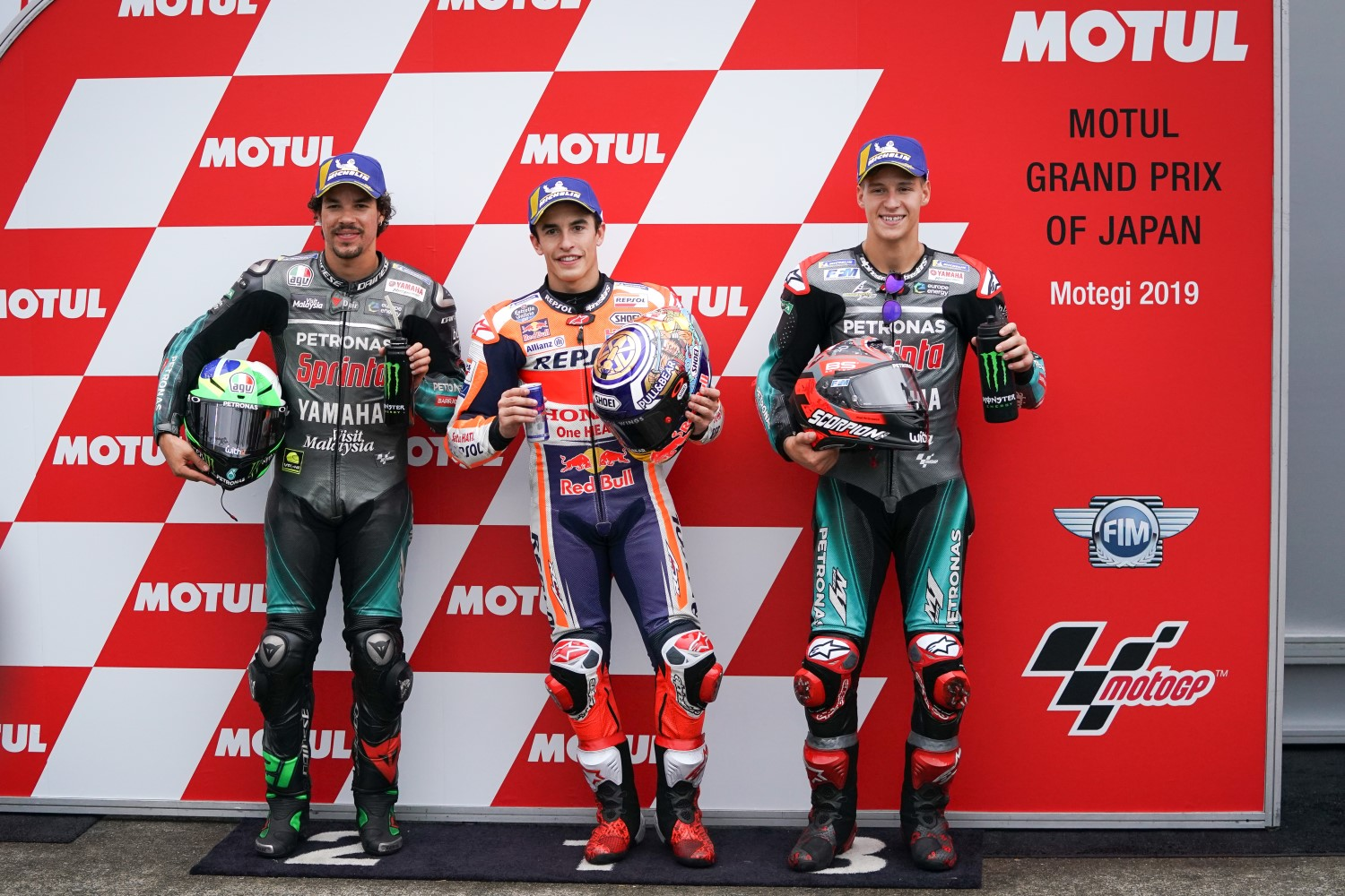 Top3 Qualifiers - Modibelli (2nd), Marquez (1st) ad Quartararo