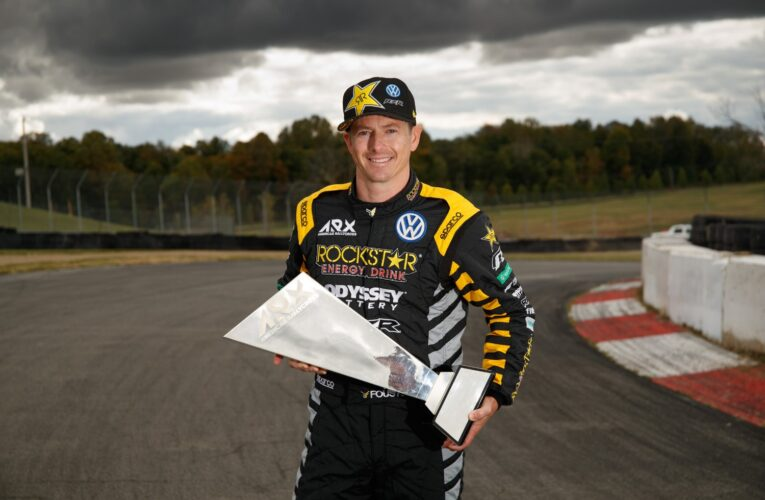 Tanner Foust wins 2019 ARX title