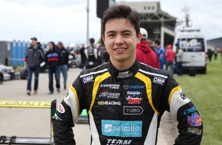 Megennis rounds out Andretti's Lights line-up
