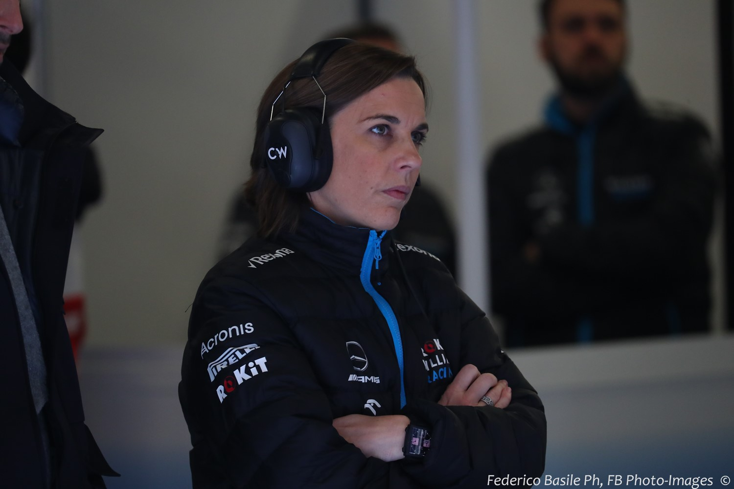Claire Williams' team also used Mercedes engines. Clearly Mercedes ordered them not to appeal