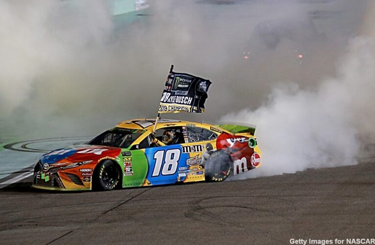 Kyle Busch saved his best race for last