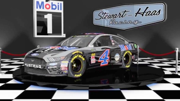 Harvick's Mobil1 livery