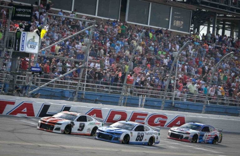 FOX NASCAR at Talladega Superspeedway Broadcaster and Programming Information