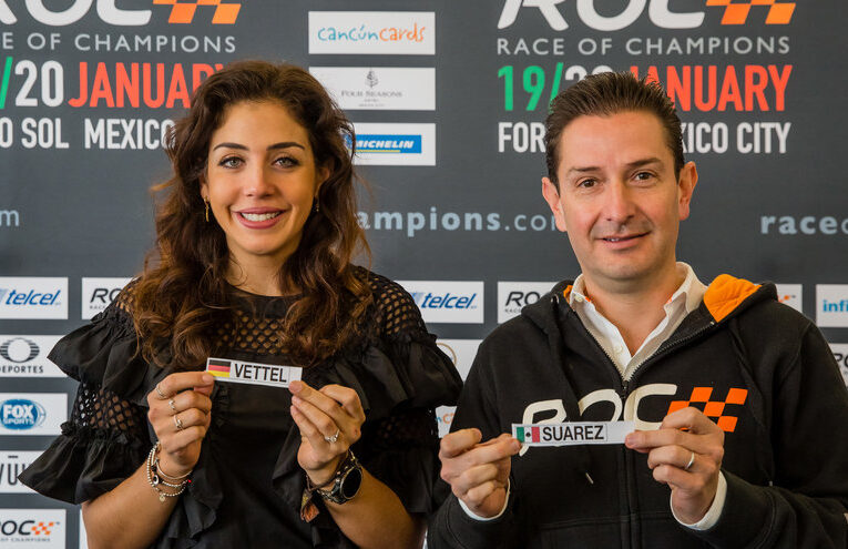 Race of Champions Draw for Positions