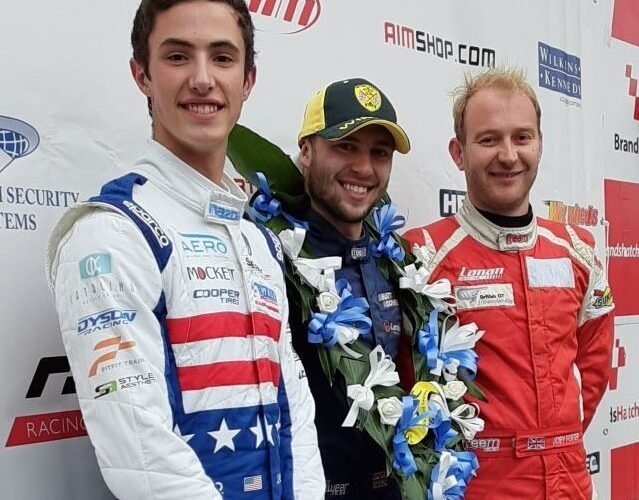 Green finishes second, sets fastest lap in Formula Ford Festival Heat race